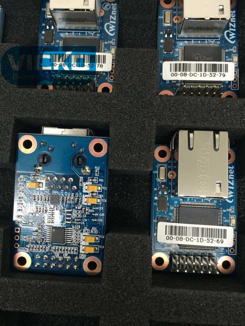 [YK] 1PCS/LOT FREESHIPPING! WIZ107SR WIZ107 Interface Modules CMPCT SZ PIN HDR TYP SERIAL-ENET MOD SWITCH