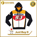 New 2015 Official 93 Marc Marquez Motogp Hoodies REPSOL 93 Motorbike Cotton Sweatshirts Moto gp Sportswear