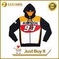 Novo 2015 oficial 93 marc marquez motogp moto gp repsol moto 93 camisolas de algodão hoodies sportswear
