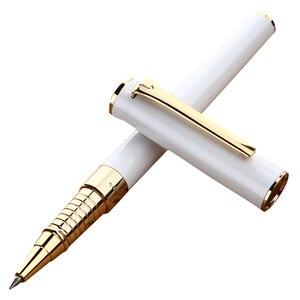 Image 3 - قلم كروي معدني دوار من بيكاسو 988 بيميو بولو مع عبوة حبر ، صندوق هدايا ثلاثي الألوان اختياري قلم كتابة للمدرسة والعمل والمكتب
