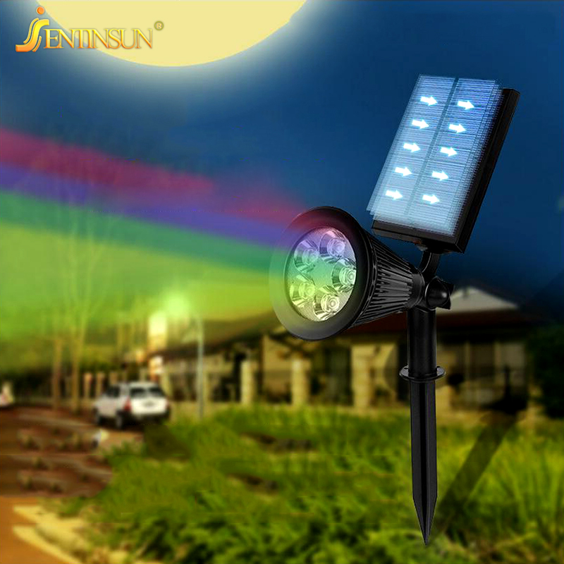 2017 new rgb solar light waterproof outdoor lighting control ip65 2017 new rgb solar light waterproof outdoor lighting control ip65 solar panel power lawn lamp garden lights spotlight wall lamps in solar lamps from lights mozeypictures Choice Image