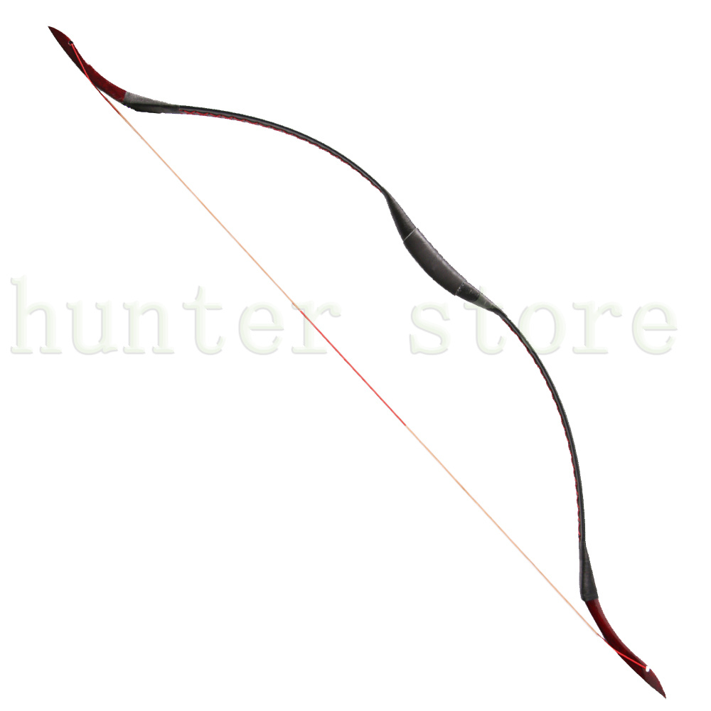 Archery Traditional Handmade 20-35lbs Recurve Bow Fiberglass Acacia Wood Hunting Shooting Leather Longbow for Outdoor Sports philips 24pht4000