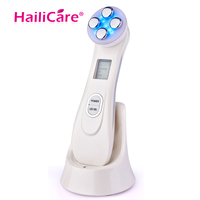 LED Photon Skin Rejuvenation EMS Mesotherapy Electroporation Face RF Radio Frequency Face Skin Care Tighten Lifting Tools