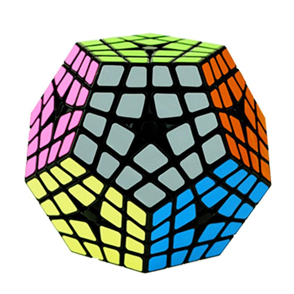 ShengShou 4*5*12 Megaminx Cube jouet pour enfants 4 couches professionnel Puzzle vitesse Cube magique Cubo Megico