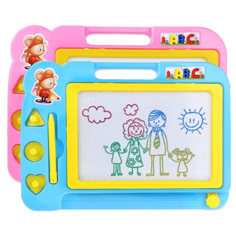 Children's Magnetic Color Writing Board Baby Educational Early Education Drawing Board Graffiti Painting Toys