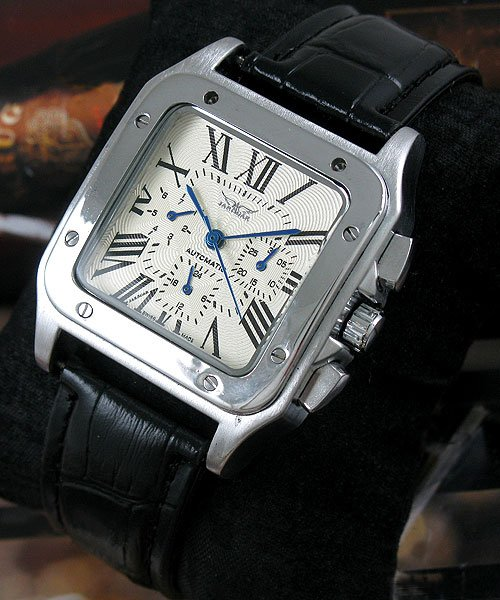 Luxury Square Designer AUTO Mechanical Mens Watch freeship So Cool Mens Favourite new date show mens auto mechanical watch chrono freeship cool