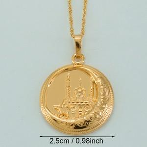 Image 2 - Мужские и женские мусульманские ожерелья Anniyo, ожерелье в мусульманском стиле, ювелирные изделия в восточном стиле, ювелирные изделия в арабском мусульманском стиле #035304
