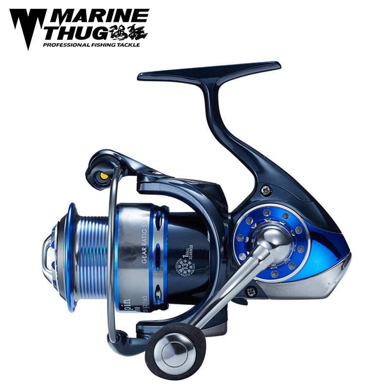Marine thug Aluminum Body Spinning Fishing Reel 14 Bearing Balls NS 2500/3000/3500 Series Spinning reel fishing