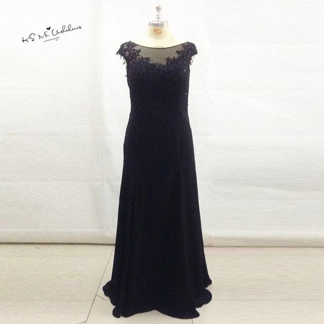 Elegant Black Plus Size Mother of the Bride Lace Dresses 2017 ...