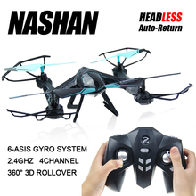 Фотография 2.4G 4CH RC Drone Profissional Helicopters 3D Flashing Rollover 6 Axis Gyro Quadcopter Racing Drone Without Camera Free Shipping