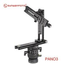 SUNWAYFOTO PANO-3 Panorámica Panorámica Trípode Para Cámara Réflex Digital 360 Panoramas De Aluminio Profesional Trípode Rotula