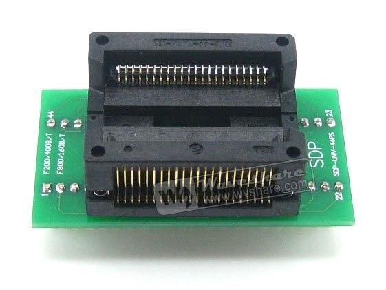 SOP44 TO DIP44 SOP44 SO44 SOIC44 Enplas IC Programming Adapter Test Burn-in Socket 1.27mm Pitch
