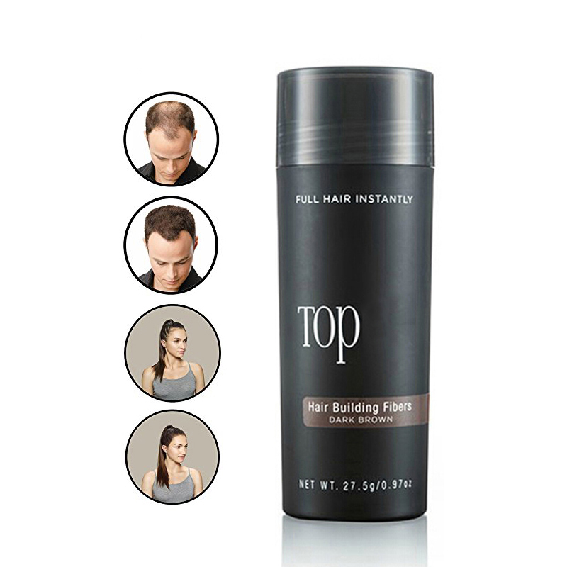 27.5g Top Hair Building Fibers Keratin Thicker Anti Hair Loss Products Concealer Refill Thickening Fiber Hair Powders Growth