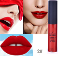 2016 Nude Makeup Fashion Matte Lipstick Lipgloss Liquid Cosmetic Moisture lasting Waterproof Beauty Free Shipping I070