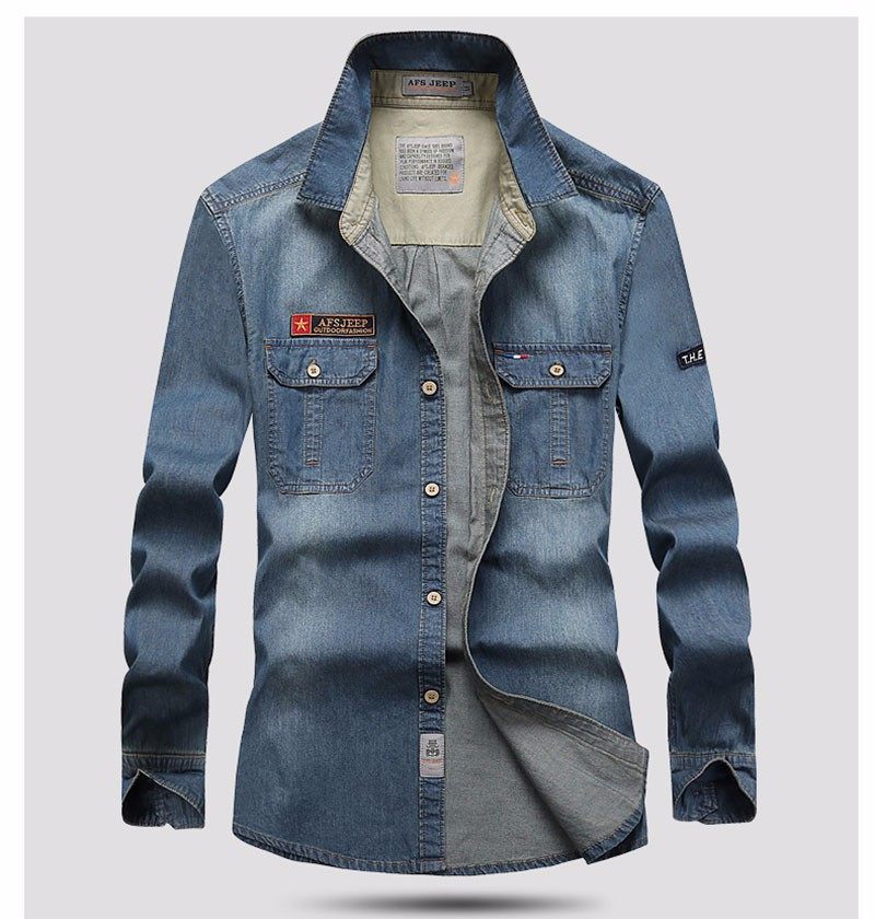 MEN DENIM SHIRTS (15)