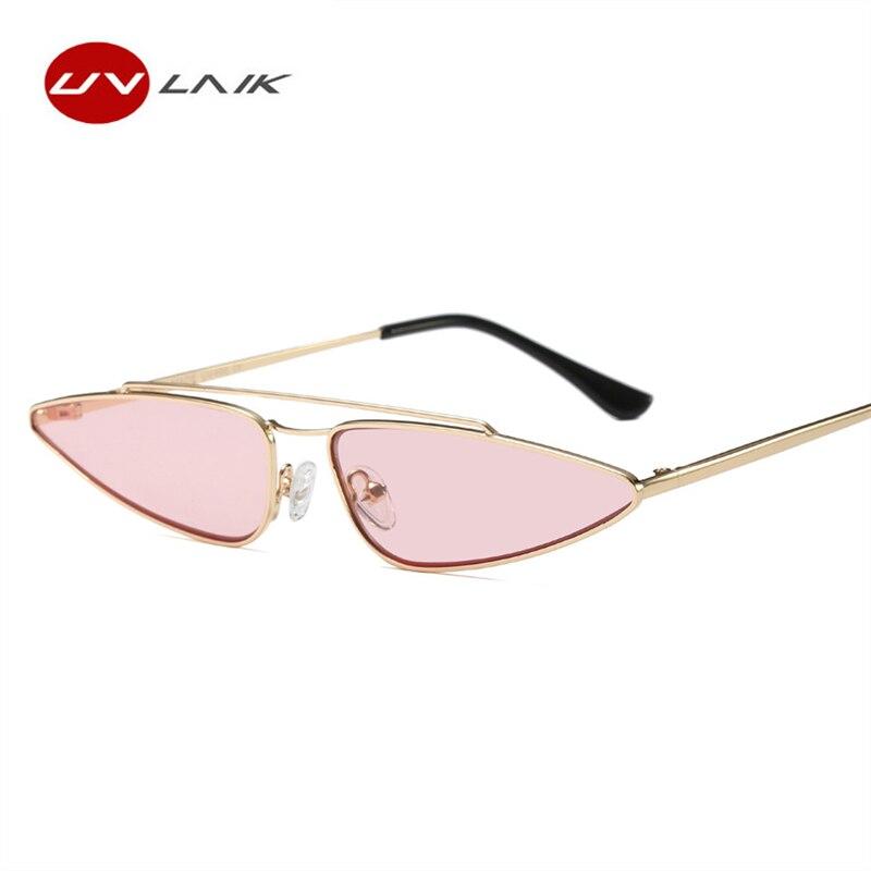 UVLAIK Vintage Katzenaugen-sonnenbrille Frauen Marke Designer ...