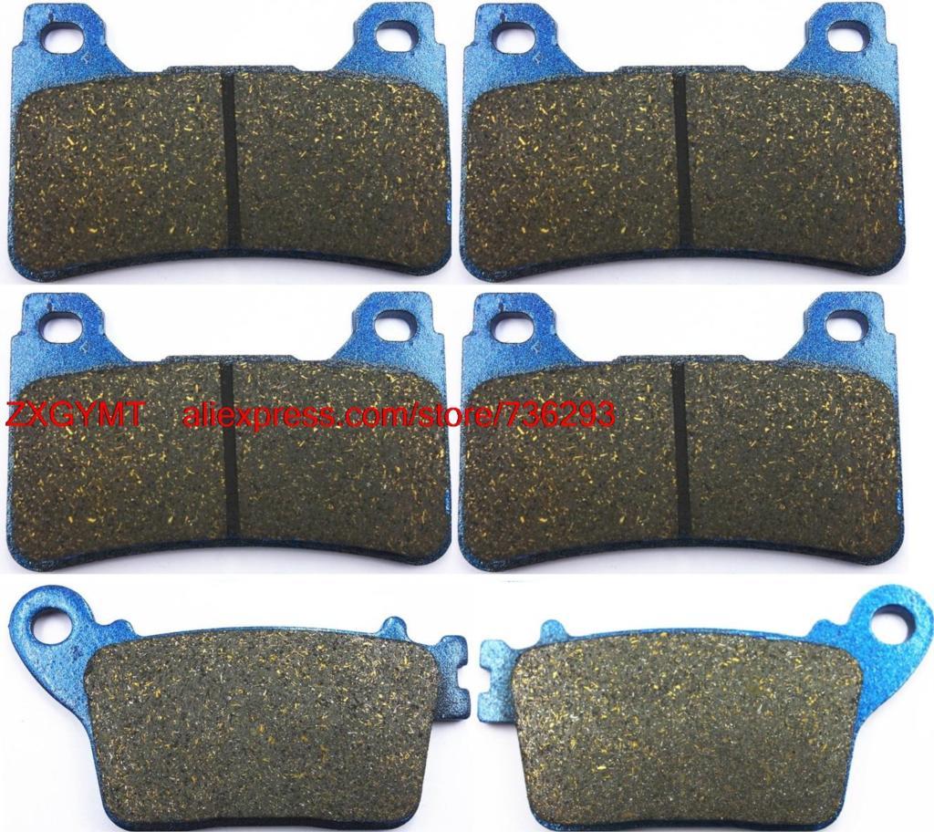 цена на Motorcycle Semi-Metallic Brake Pads Set fit HONDA CBR1000 CBR1000RR CBR 1000 RR Fireblade ( Rad.cal ) 2008