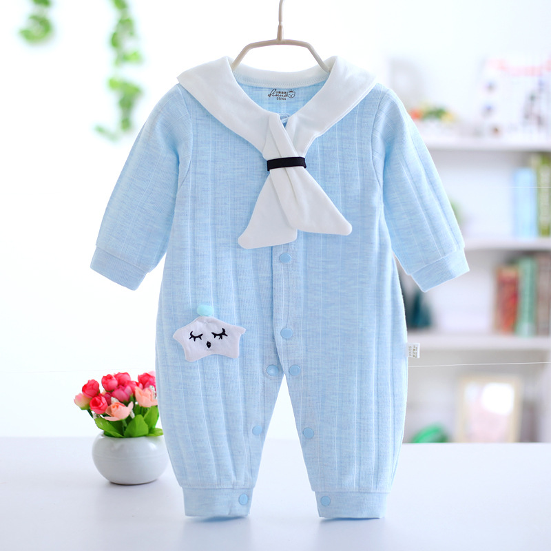 Bebek Real Infantil Hot Sale Newborn Baby Girl 2018 Cotton Knitted Clothes Cartoon Romper Climbing Clothing For Kids Boys Girls