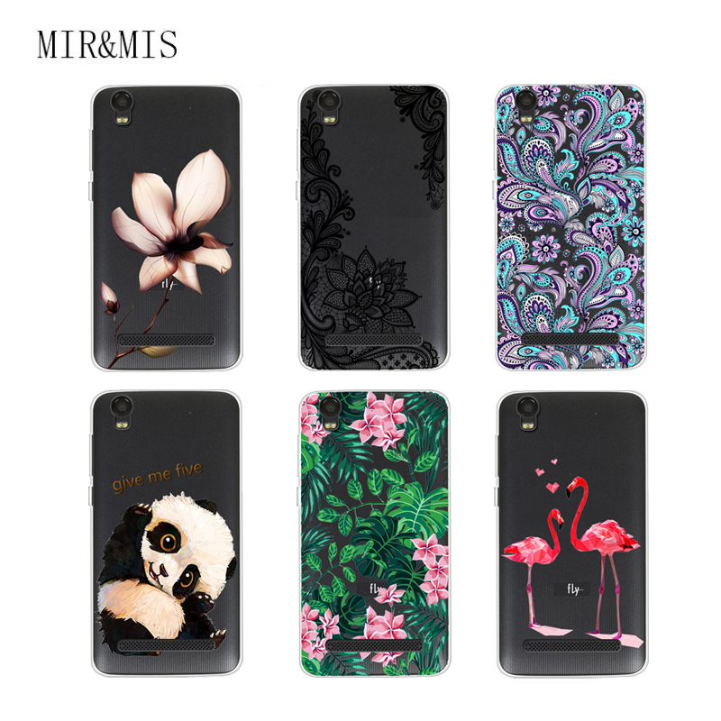 Case For Fly Fs509 Nimbus 9 5.0 inch Transparent Printing Drawing Silicone Phone Cases Cover For Fly Fs509 Nimbus 9 5.0 Inch