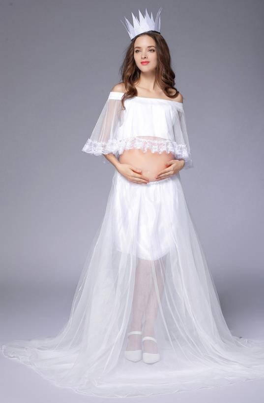 2018 Hot plus size Maternity Photography Props dress suit Maternity Photography Gown Maxi Pregnancy Dress Fancy shooting photo elasticity maternity photography props dress fancy shooting photo women s plus size long maternity dresses pregnant women dress