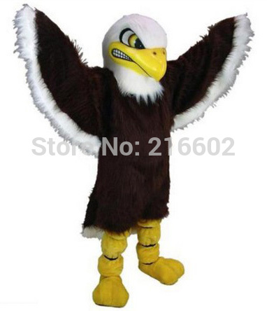 Mascotte aigle mascotte adulte personnage de dessin animé tenue costume déguisement pour fête carnaval pour costumes de fête d'halloween