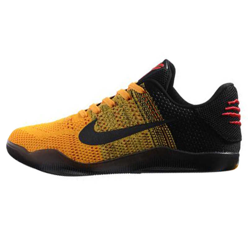 finest selection 94a93 6ac64 ... Breathable Nike Kobe 11 Elite Low Bruce Lee Men s Basketball Shoes,  Yellow   Black, ...