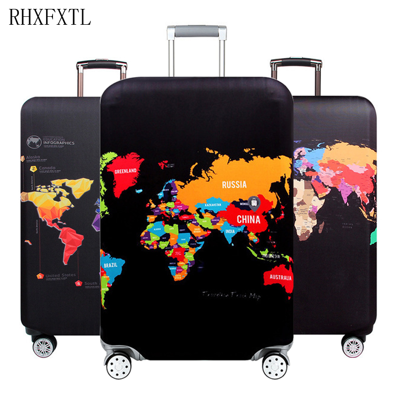 suitcase elastic protective covers luggage cover travel accessories for 18-32 inch travel trolley luggage case Dust high quality