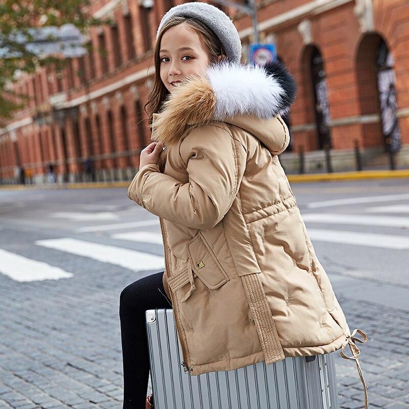 2019 Enfants D'hiver de Graffiti veste chaude Coton-doudoune Coton rembourré Vêtements D'hiver Veste Parc pour La Russie manteau d'hiver
