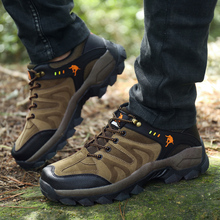 Man Non Slip Climbing Sneakers High Quality Athletic Hiking Shoes
