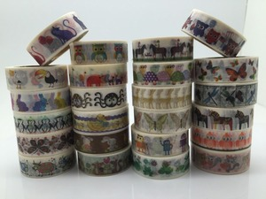 jiataihe washi tape unicorn Robot butterfly tortoise cat cow swallow tiger sheep chicken ant duck rabbit dog spider Flamingo(China)