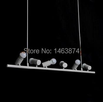Restaurant Bar bird lamp bedroom lamp chandelier six birdies, material iron, E27, AC110-240V