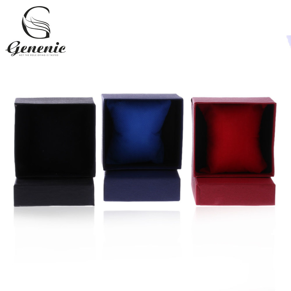 1pc Present Gift Bangle Jewelry Ring Earrings Wrist Watch Box Paper Tray  Boxes Case Pretty(