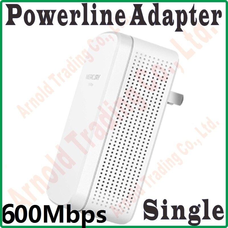 1 Pcs 100 Mbps Rj45 Port, 600 Mbps Powerline Netzwerk Adapter, Av 100 0 Ethernet Plc Adapter, Wifi Router Partner, Iptv, Homeplug Av2