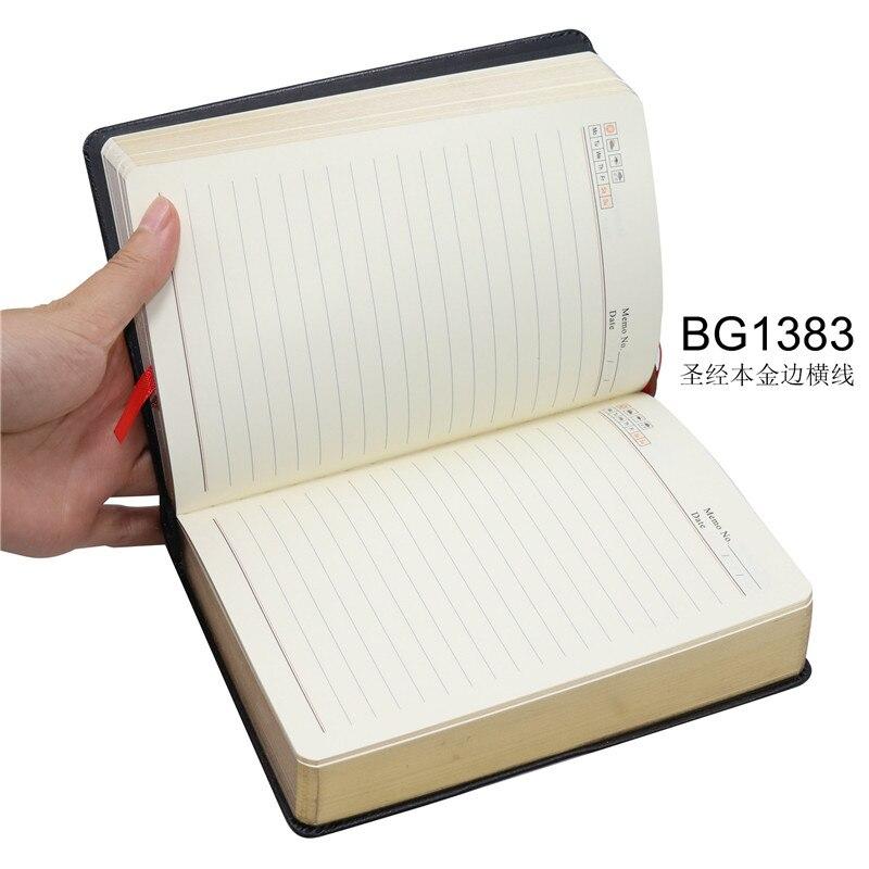 de notas de couro bíblia livro diário