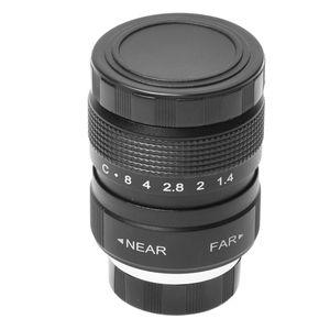 Image 4 - HFES Television TV 25mm f/1.4 Lens in C Moun Lens for TV/CCTV/Cinema C Mount cameras F1.4 in Black