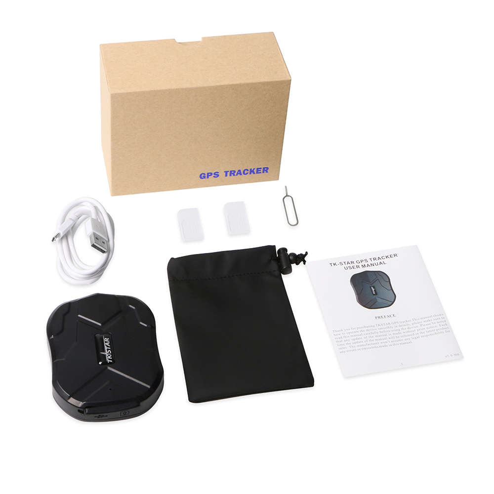 Image 5 - Car GPS Tracker Waterproof IP65 5000mAh Truck Car Locator TKSTAR TK905 90 Days Standby Powerful Magnet Lifetime Free APP Web-in GPS Trackers from Automobiles & Motorcycles