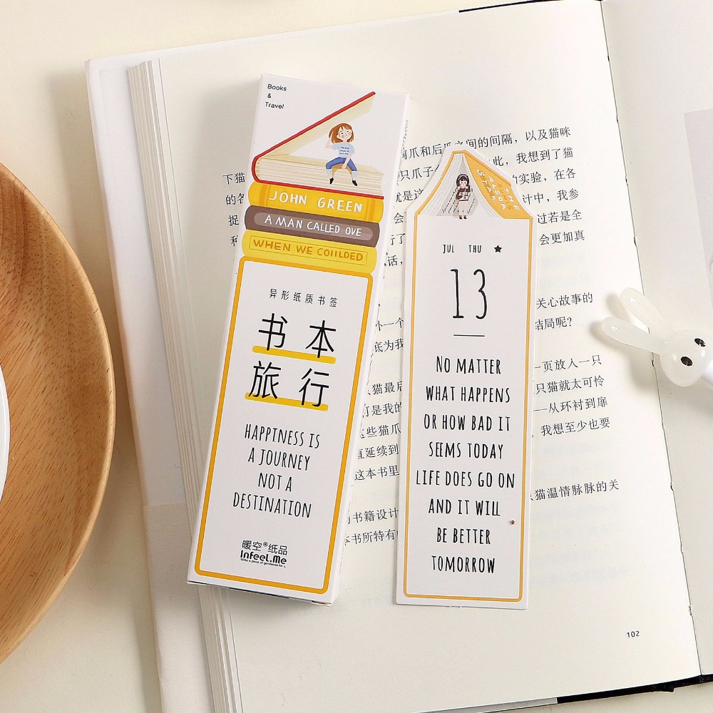 Executive College Stationery Note Cards: Aliexpress.com : Buy A Journey With Book 30pcs Bookmark