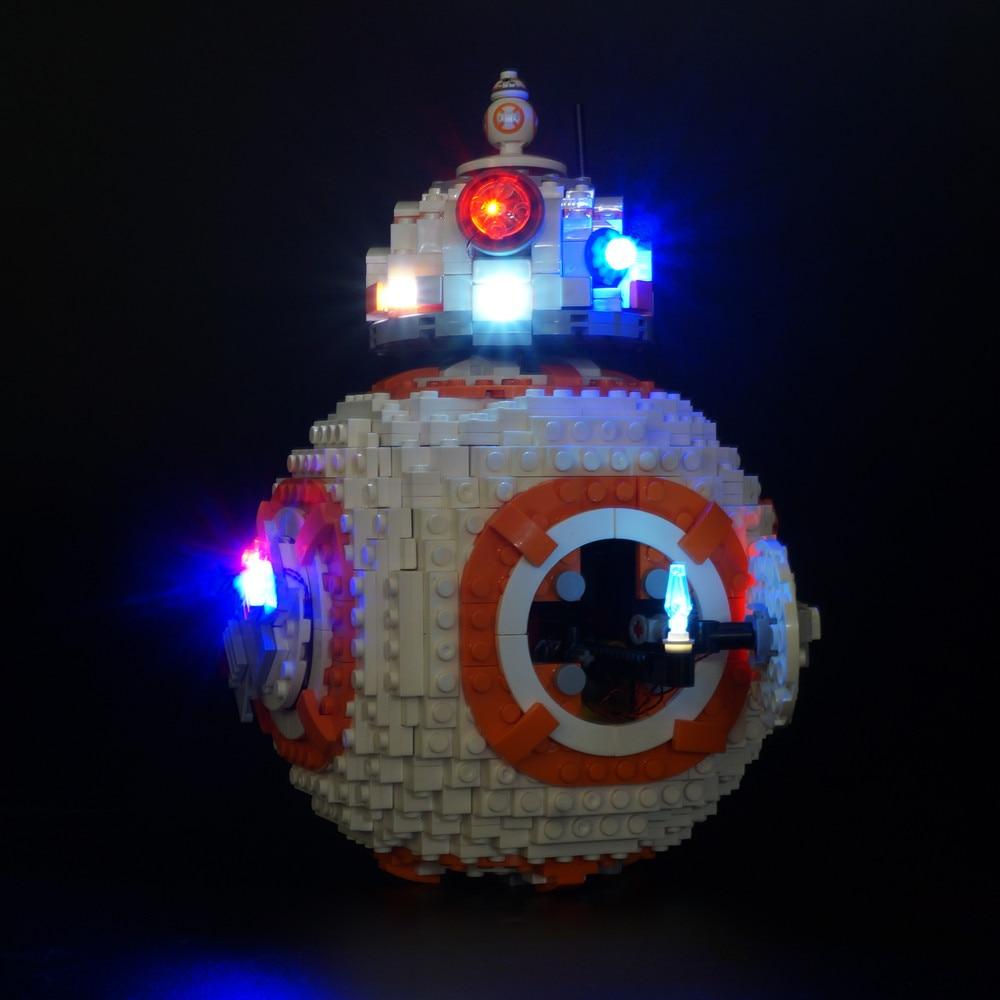 Led Light Set For Lego 75187 bb8 Robot starfighter Building Blocks Compatible 05128 Toys GiftLed Light Set For Lego 75187 bb8 Robot starfighter Building Blocks Compatible 05128 Toys Gift