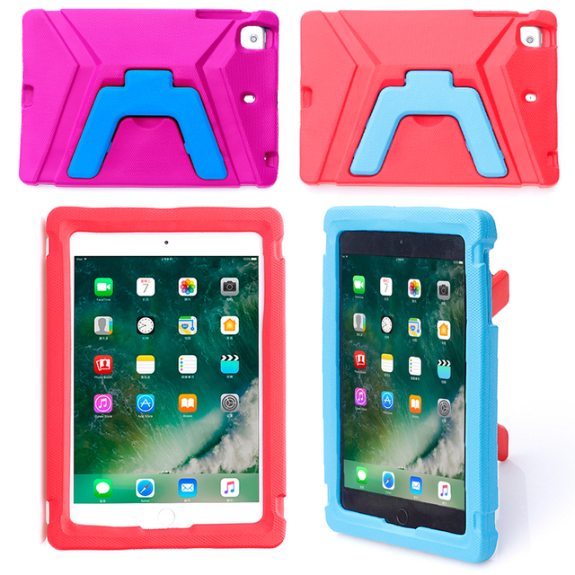 PU Case For iPad Mini 5 EVA Stand Cover For iPad Mini 1 2 3 4 5 Tablet Case Shell