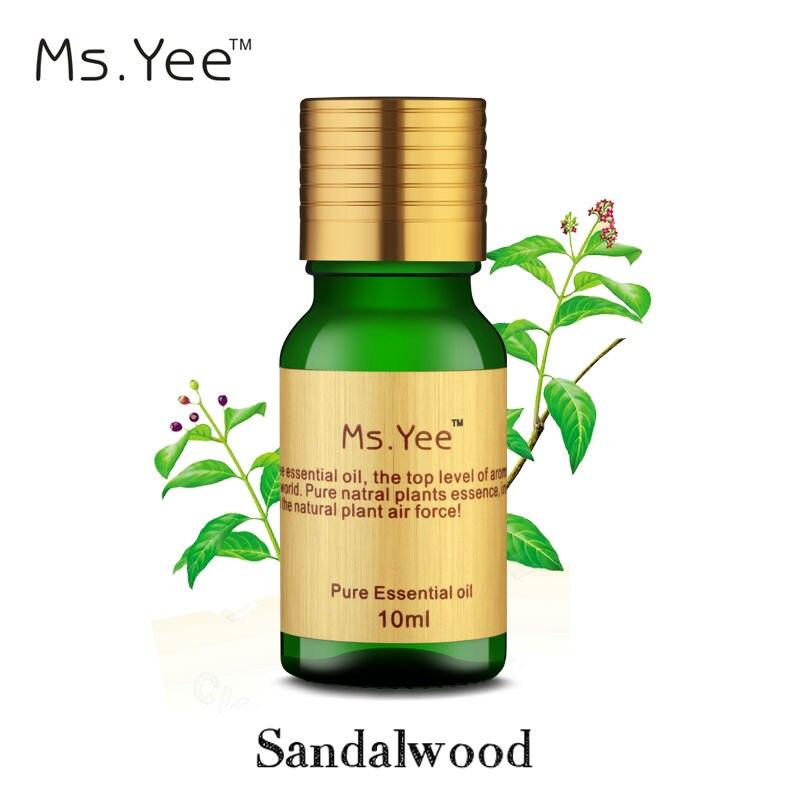 Tiszta szantálfa illóolaj híres Aphrodisiac Anti Stress & Relax Mind jó szaga India Aromaterápiás olajok Meditáció 10Ml