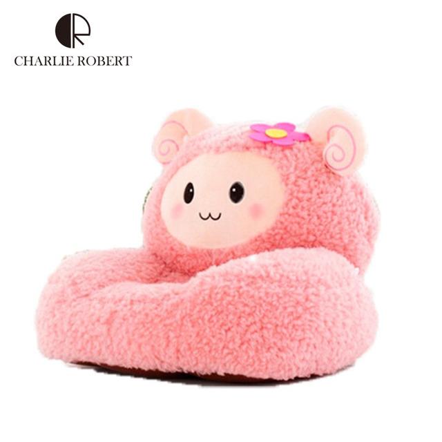 2015 brinquedos de pelúcia do bebê cadeira e sofá de crianças dos desenhos animados crianças saco de feijão cadeira de mobiliário de bonito HK444
