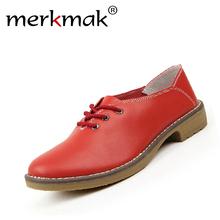New 2017 fashion women shoes genuine leather oxford shoes for women flats moccasins sapatos femininos sapatilhas zapatos mujer