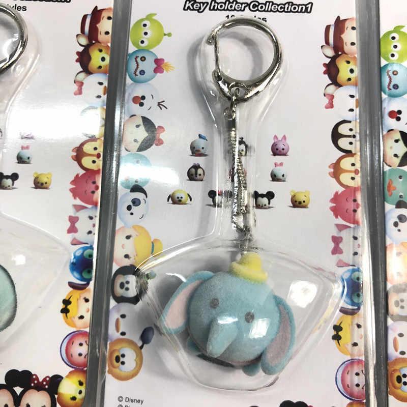 10 pçs/lote Bonito Dolls Figuras de Ação Figura Brinquedos Chaveiros Bonito Minnie Mickey Bonito Do Gato Brinquedos para As Crianças Crianças Chaveiros decoração