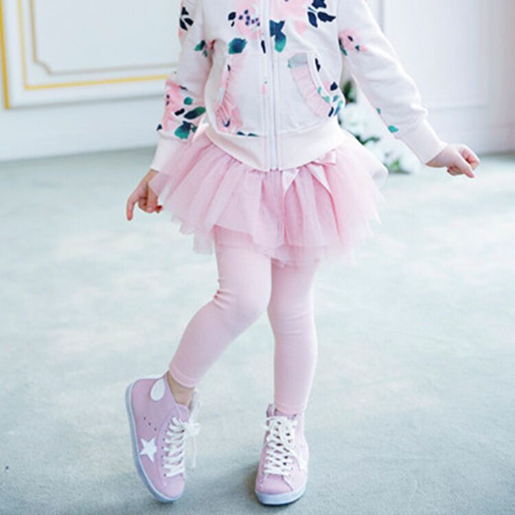 Retail EMS DHL Free Shipping toddler Little Girl's New Autumn Tutu Skirt Leggings One Piece Children's Wear 3 Colors dhl ems 1pc new sick vs ve18 3e3940