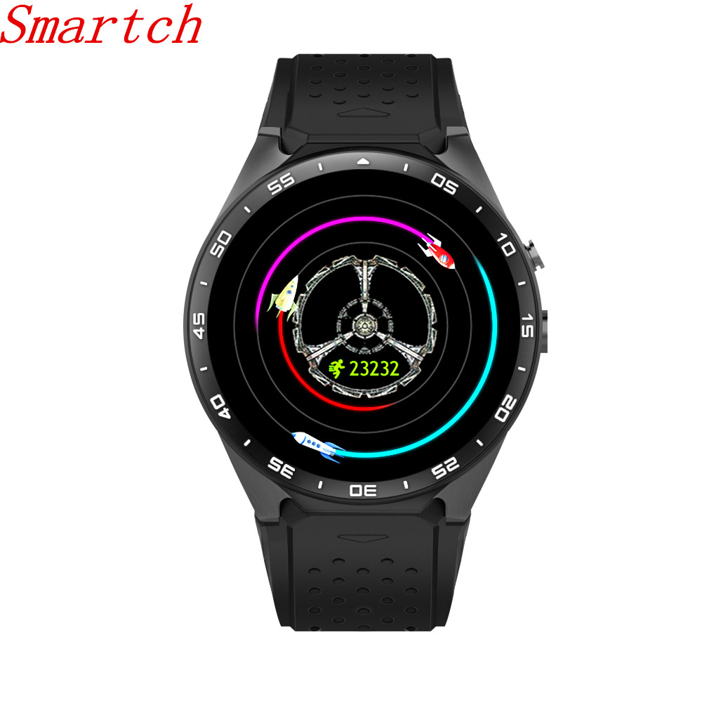 Smartch KW88 smart watch Android 5.1 OS 1.39 inch Amoled Screen 3G wifi Smartwatch Phone MTK6580 GPS Gravity Sensor Pedometer smartch d6 smart watch android 5 1 3g smartwatch phone mtk6580 quad core gps wifi bluetooth 4 0 wearable devices for men and wo