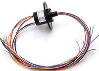SRC 22 12A Capsule Slip Ring 12 Channel 18 Channel 2A Electric Collector Rings 360 Degree