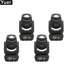 4Pcs/Lot Professional Music Light 200W LED Moving Head Beam Spot Wash 3in1 Party DJ Stage Night Club