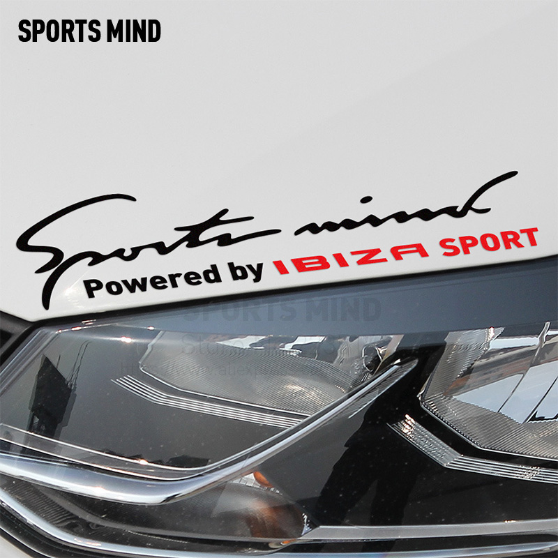Sport Geist Auto Lampe Augenbraue Vinyl Drift Racing Fatlace Illmotion auto Aufkleber auto styling Für Seat Ibiza 6l 6j Auto zubehör