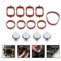 New 4Pcs X 22mm O Type Sealing Gaskets Swirl Flap Replacements Removal Blanks Manifold Gaskets For