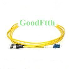 繊維パッチコードジャンパー Fc/UPC LC/UPC FC LC UPC Sm デュプレックス GoodFtth 100 500m